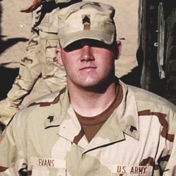 Vyve Veterans Michael Evans